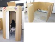 避難所へ間仕切り・授乳室