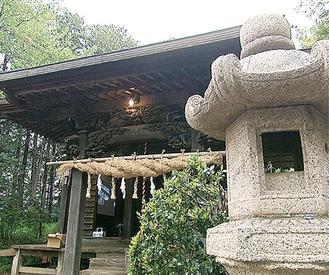 訪問する北金目神社