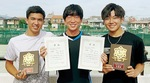 左からラージさん、藤野さん、生野さん