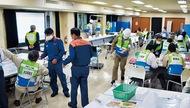 大地震想定の合同訓練