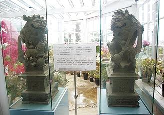 長崎のグラバー邸にある麒麟像