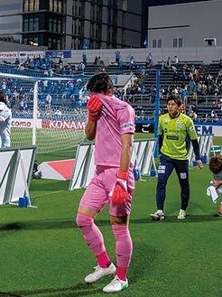 試合後には涙を見せていたGKの谷晃生選手。次の試合で取り返そう!