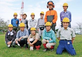 「湘南の森」のメンバー(9月25日参加者)