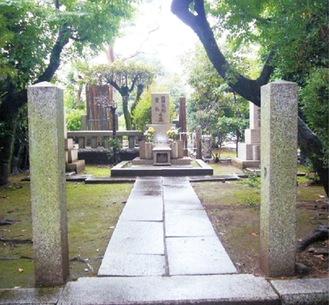 護国寺・池田成彬の墓