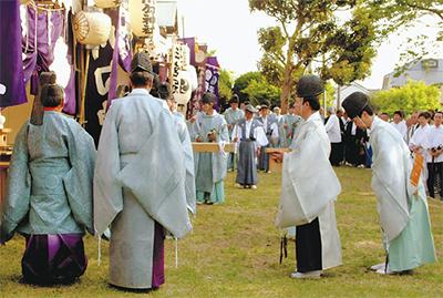 悠久の伝統神事