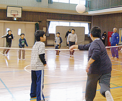 バウンスボールに挑戦