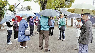 馬場老人会が地域学習