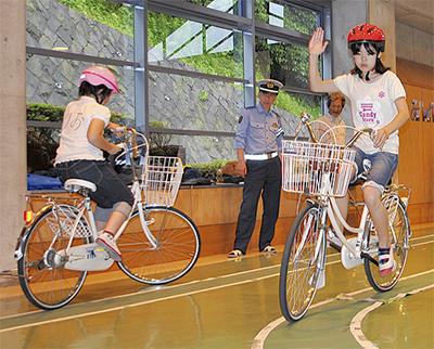 入賞めざし自転車特訓