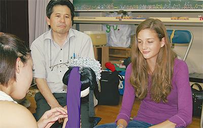 日本の高校生活を体験