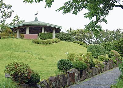 津波避難場所に城山公園