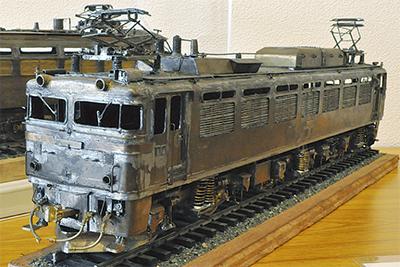 精巧さ光る鉄道模型