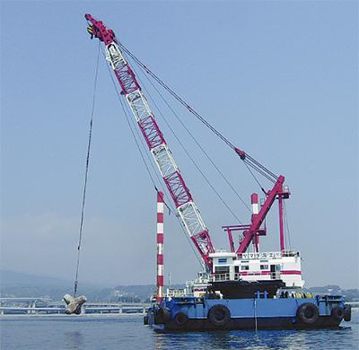 漁場づくりに再利用