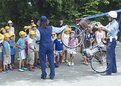 自転車の乗り方を習得