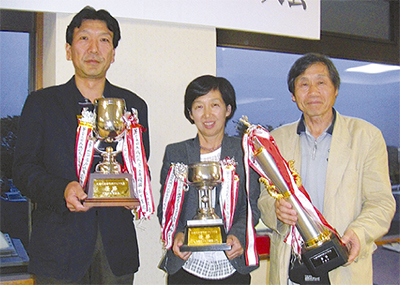 佐々木武子さんら優勝