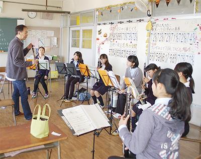 神奈川フィルが中学生指導