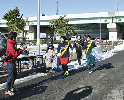 ゴミ拾いでつなぐ東海道