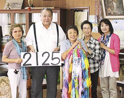 2千125羽を寄贈