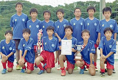 FC中井が見事優勝