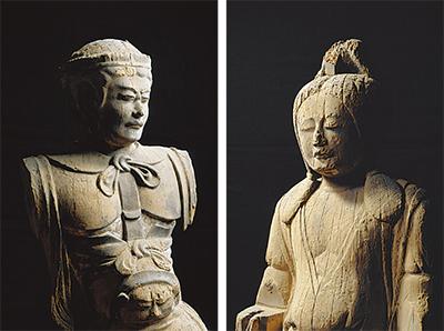 神像を特別公開
