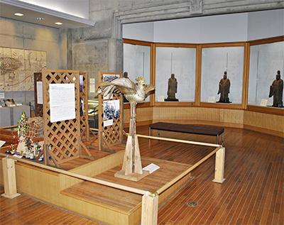 町の文化財をズラリ展示