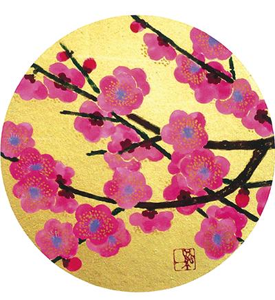 日本画40作品を展示