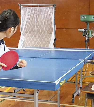 初心者対象の卓球教室