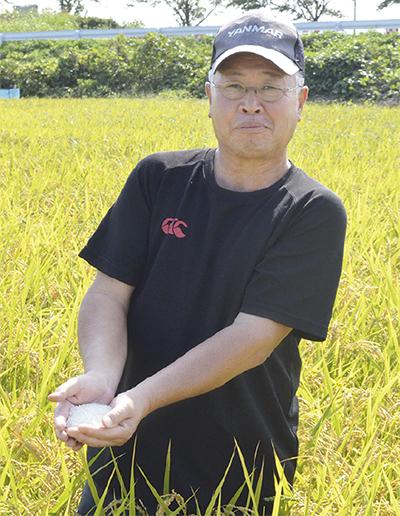 県内1の米所 出荷本番