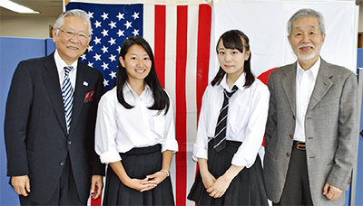 高校生を米国派遣