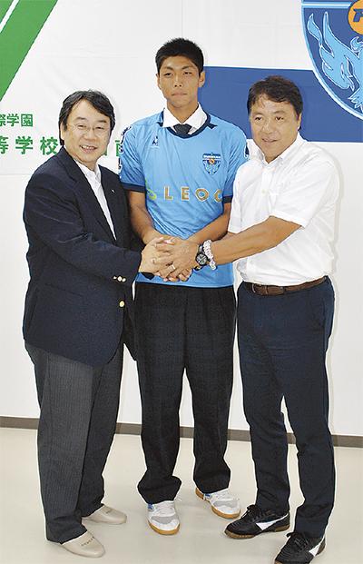 J2横浜FC入り