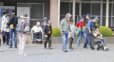 災害弱者と避難訓練
