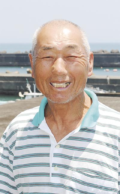 漁協組合長 加藤さんに功労者表彰
