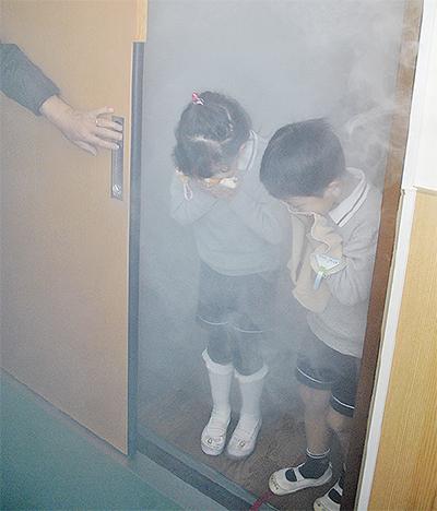 火事の煙は怖いよ