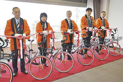 自転車シェアがスタート