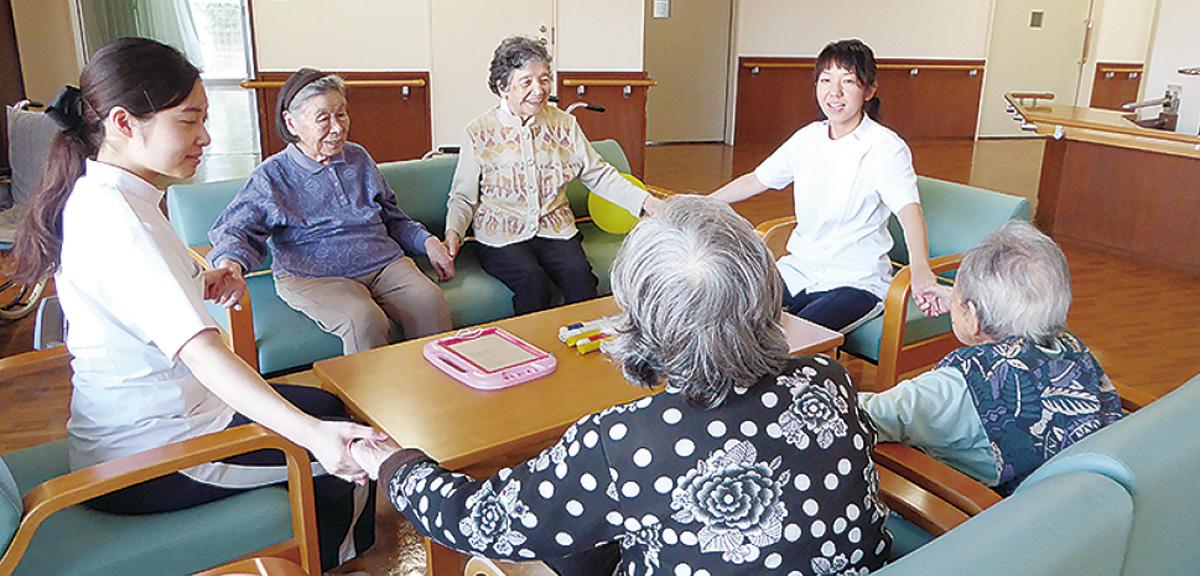 【1】リハビリスタッフ、【2】夜勤専門介護職員 募集