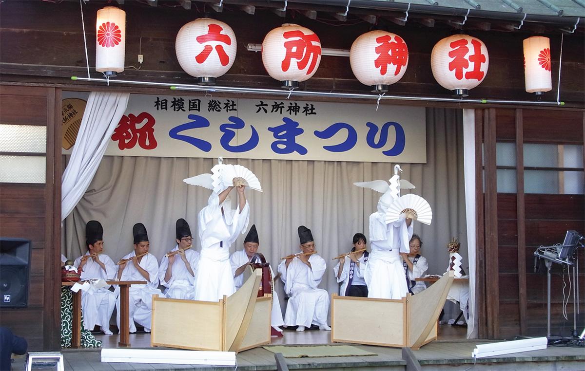 六所神社で櫛魂(くし)まつり