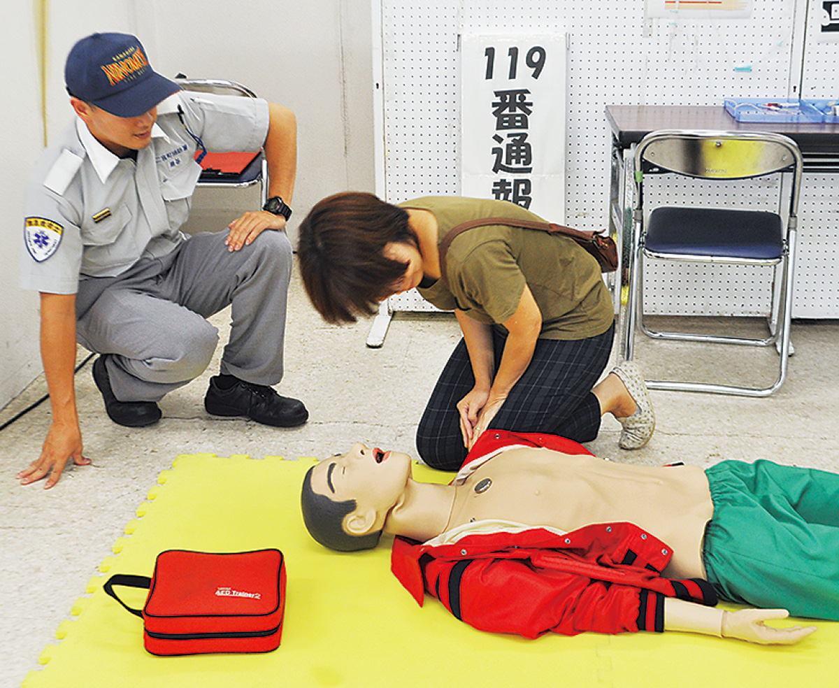 9日に救急フェア