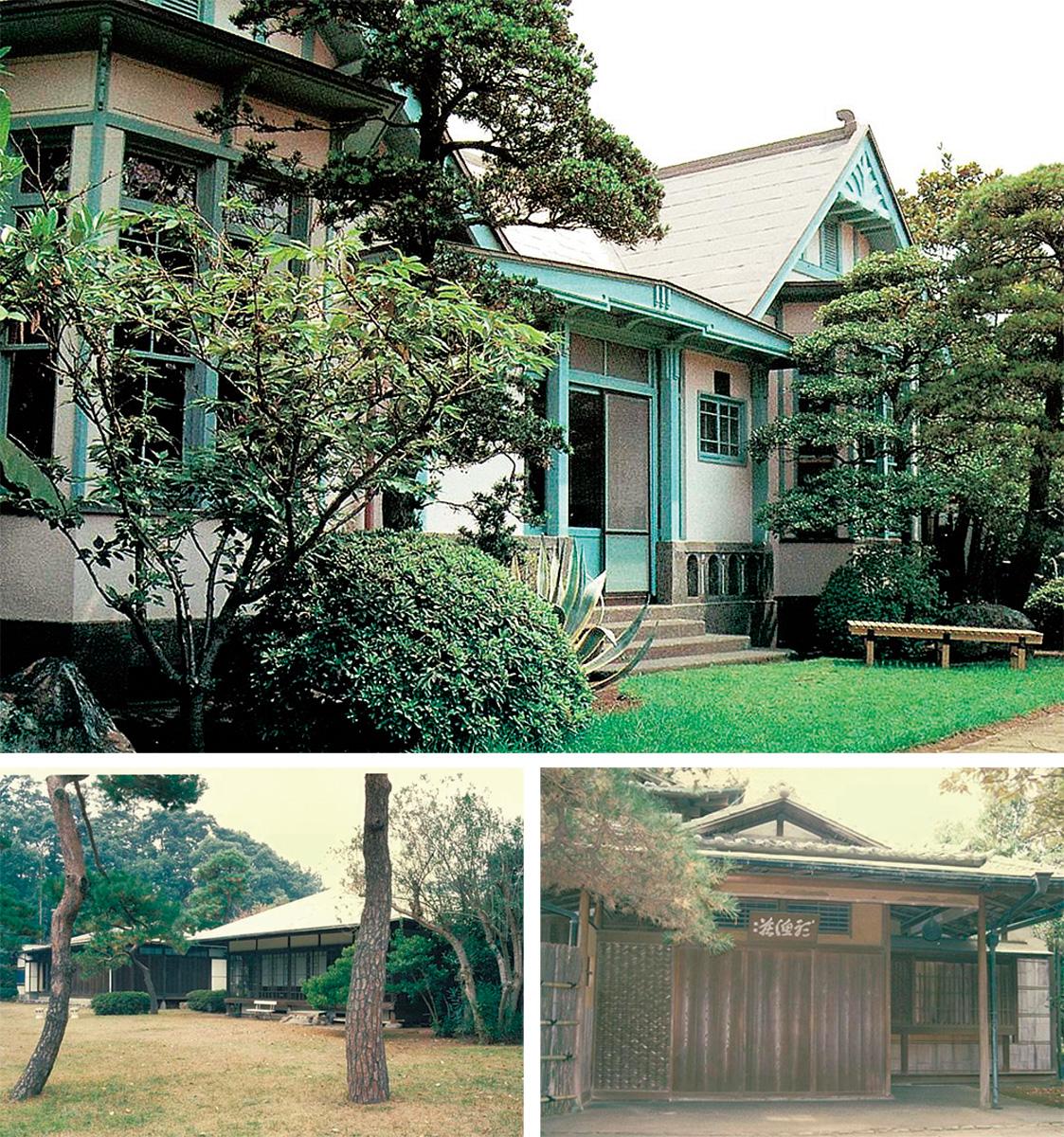 3邸を特別公開