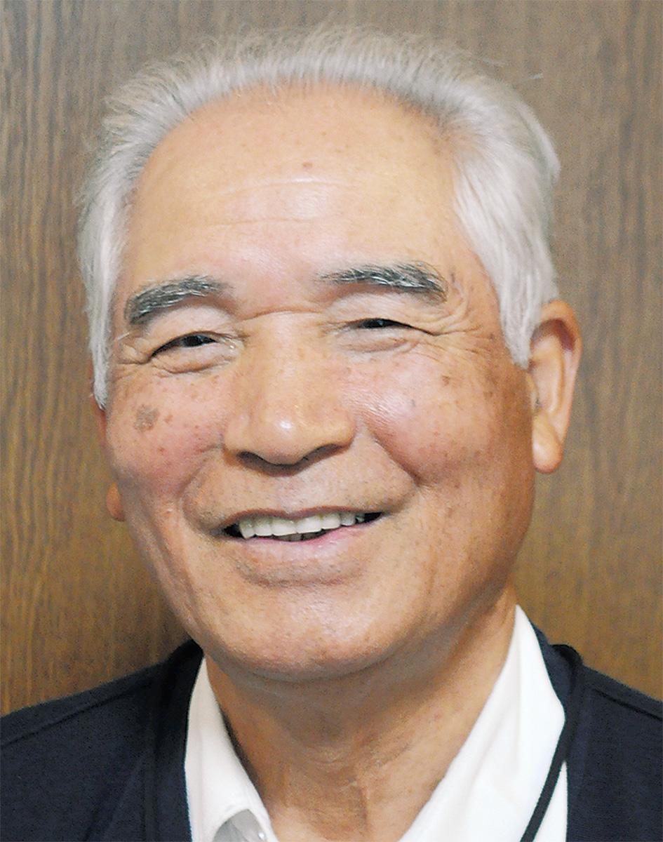 尾上 文男さん
