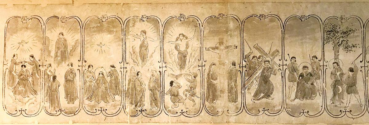 16世紀のキリシタン画か