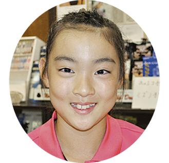 天野真里奈さん(11)