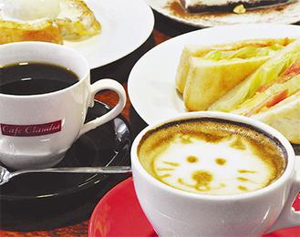 本格的なコーヒーから   可愛いカプチーノまで
