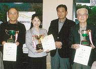 斎藤、勝目、鈴木さんがV