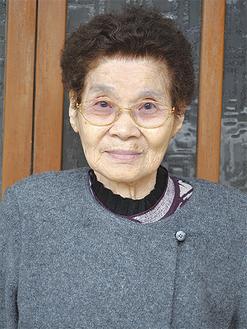 瀬戸キクエさん(82)1932年生まれ 大井町在住