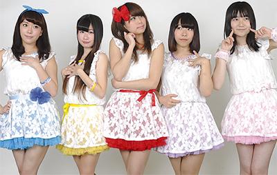 (左から)大川玲奈さん、可愛紗彩さん、鳴海はれさん、美原ゆいさん、中島愛さん