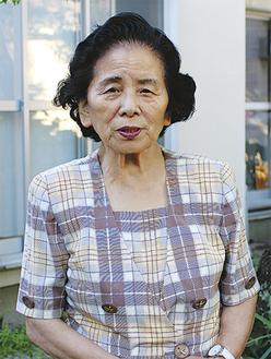 内田玲子さん(79)県知事委託のもと、地方から小田原へ働きに来ていた若者のために「働く青少年の家」として自宅を開放。著書多数。