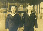香川に赴任していた頃。右が三宅さん