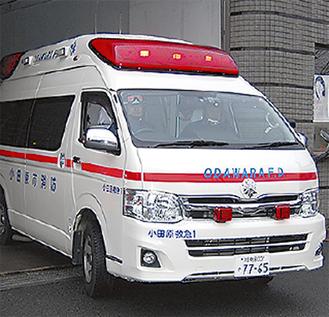 1日平均42件、出動する救急車