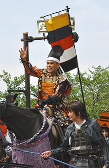 2014年、第50回開催時に多くの声援を浴びた柳沢さん