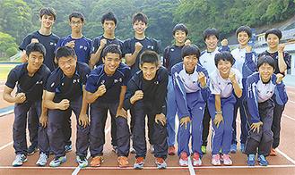 県予選突破のメンバー