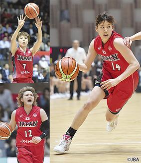代表候補選手たち (写真提供=日本バスケットボール協会)